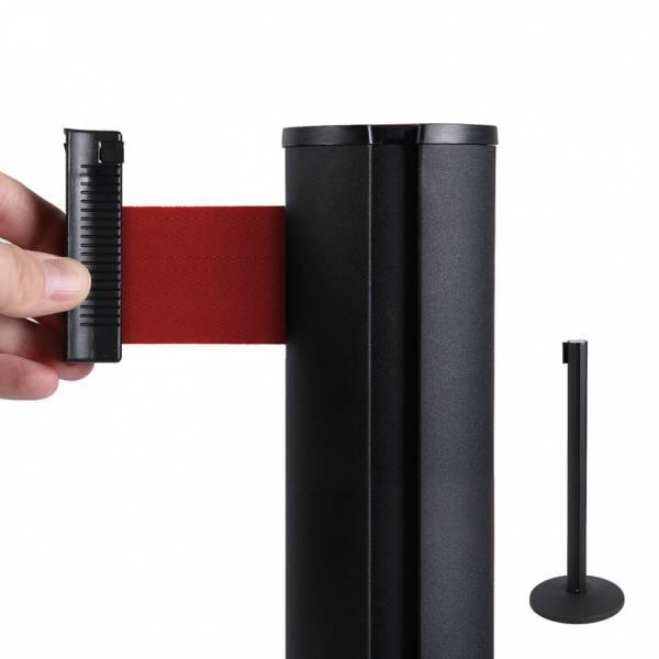 Bariéra so samonavíjacím pásom 2,7 m rôznych farieb