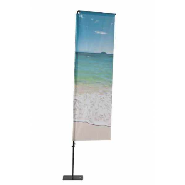 Beach Flag Alu Square