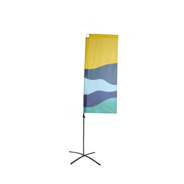 Reklamná ekonomická vlajka obdĺžniková