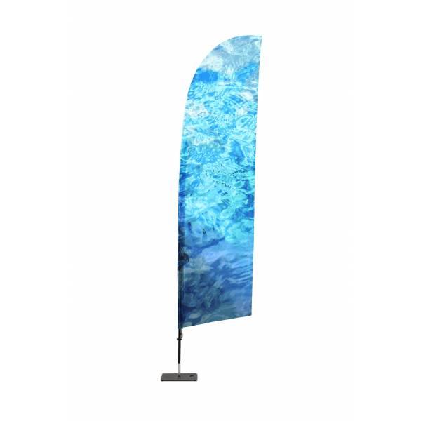 Tlač pre reklamné vlajky Krídlo