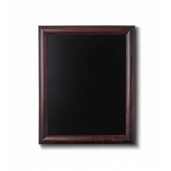 Kriedová tabuľa 40x50 tmavá hnedá