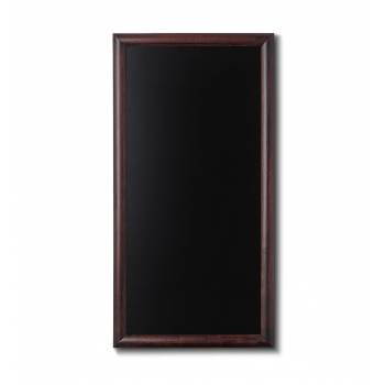 Kriedová tabuľa 56x100 tmavá hnedá