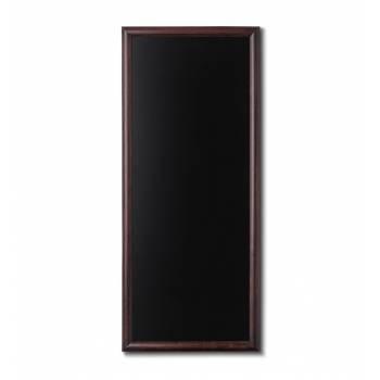 Kriedová tabuľa 56x120 tmavá hnedá