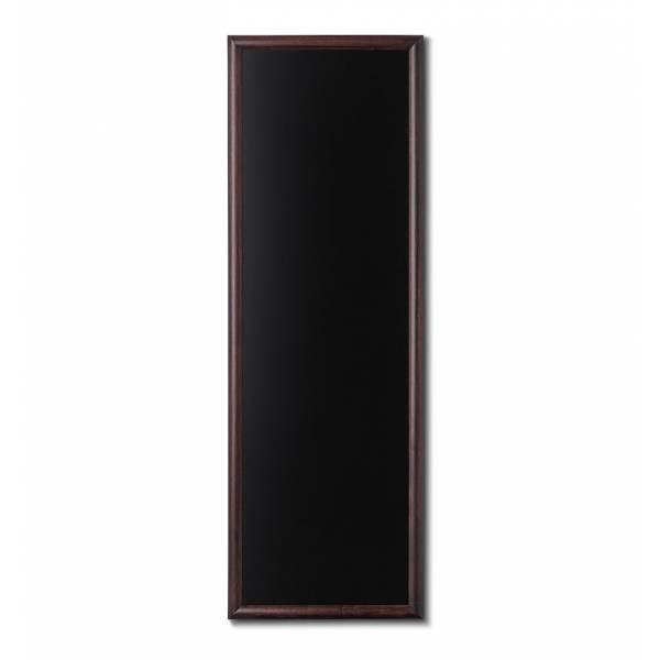 Kriedová tabuľa 56x150 tmavá hnedá