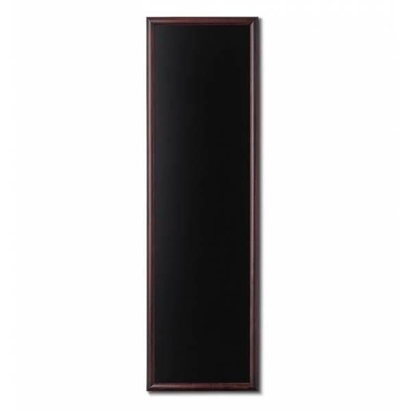 Kriedová tabuľa 56x170 tmavá hnedá