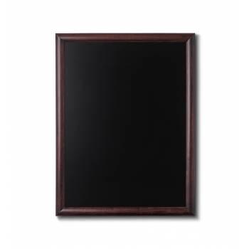 Kriedová tabuľa 60x80 tmavá hnedá