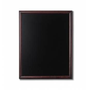 Kriedová tabuľa 70x90 tmavá hnedá