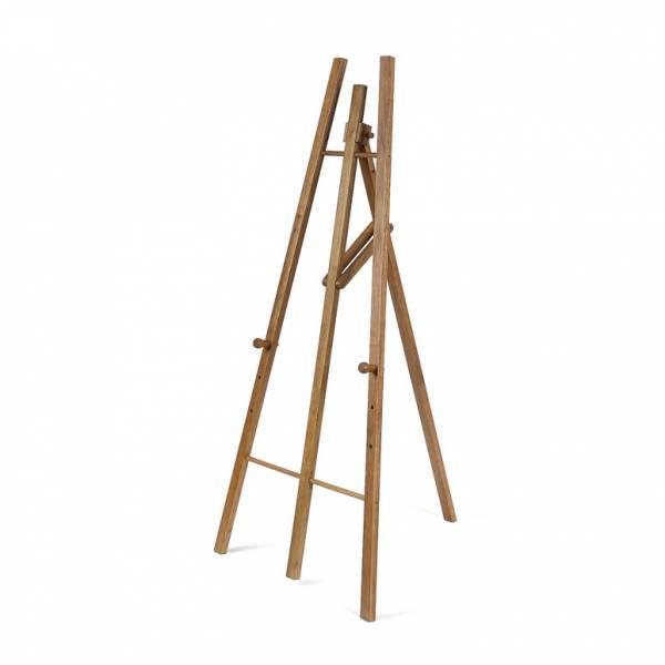 Dřevený stojan pro křídové tabule, světle hnědá