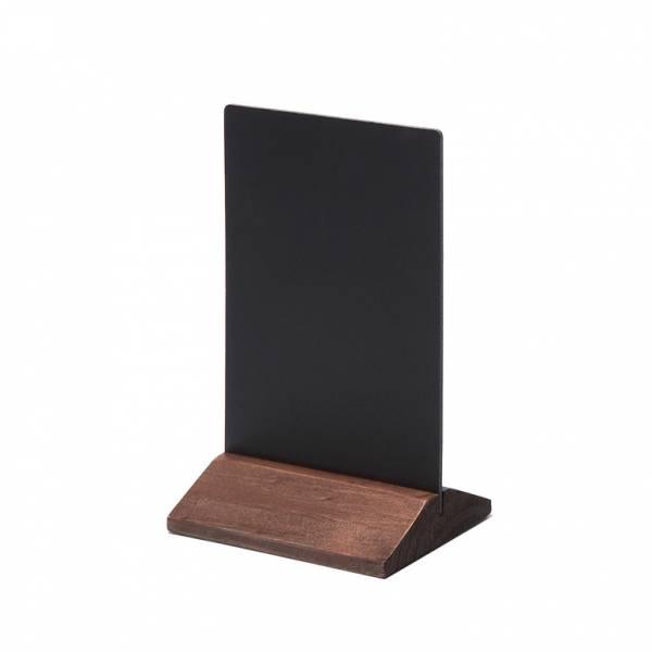 Drevený menu stojanček ekonomickýtmavohnedý, 100 mm