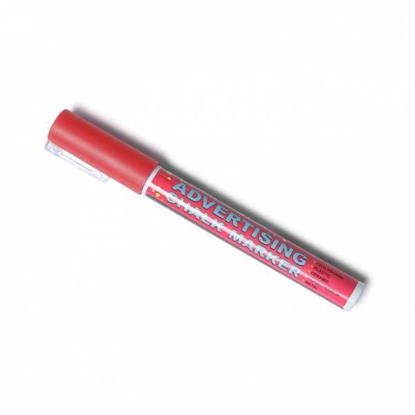 Kriedový popisovač – červený 3mm