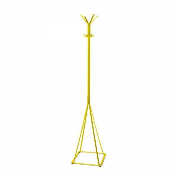 Voľne stojaci vešiak Classic, žltý