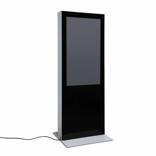 Digitálny obojstranný totem s monitormi Samsung