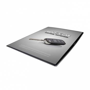 Pultový plagátový systém DeskWindo, A4
