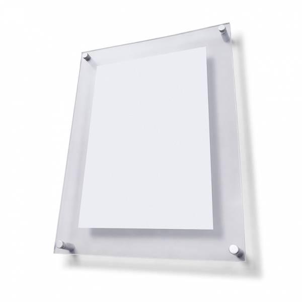Plexi tabule A1 s ozdobnými šróbami FS25
