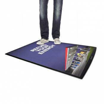 Podlahový plagátový systém FloorWindo, formát 4xA4