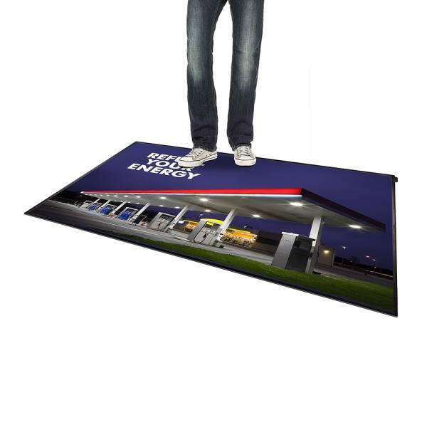 Podlahový plagátový systém FloorWindo®, formát A0