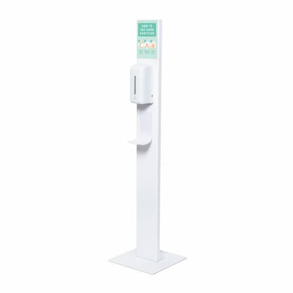 Hand Sanitiser dizajnový s automat. dávkovačom 0,5l a plexi priehradkou formátu A5