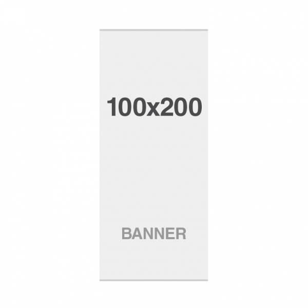Prémiová bannerová tlač No Curl 220g/m2, 1000x2000mm, magnetické pásky