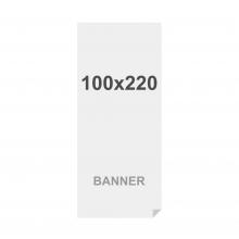 Prémiová bannerová tlač na viacvrstvový materiál 220g/m2, matný povrch, 100x220 cm