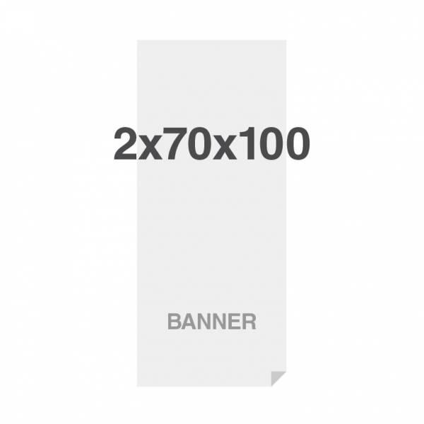 Prémiová bannerová tlač na viacvrstvový materiál 220g/m2, matný povrch, 700x2000 mm
