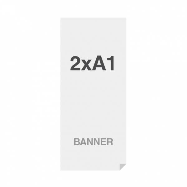 Prémiová bannerová tlač na viacvrstvový materiál 220g/m2, matný povrch, 594x1682 mm