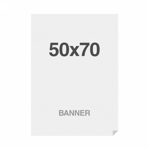 Prémiová bannerová tlač na viacvrstvový materiál 220g/m2, matný povrch, 500x700 mm
