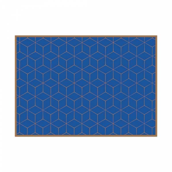 Prostírání Hexagon zelený