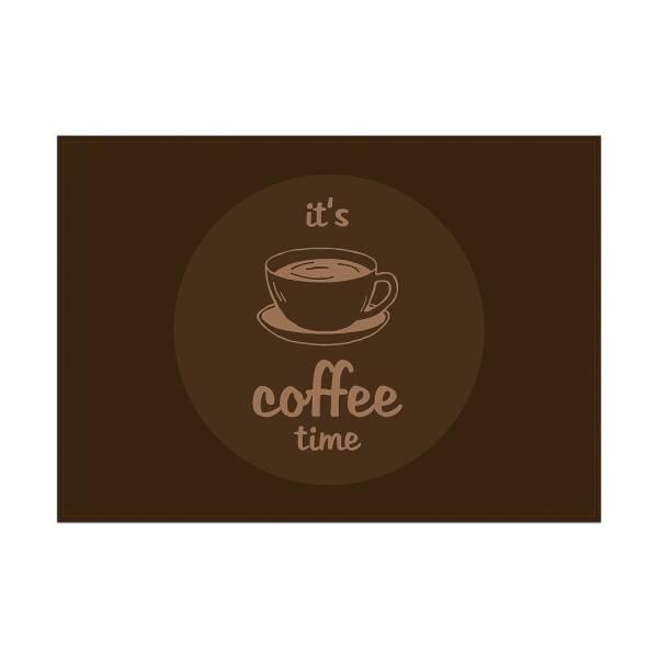 Prostírání Čas na kávu, tmavě hnědá