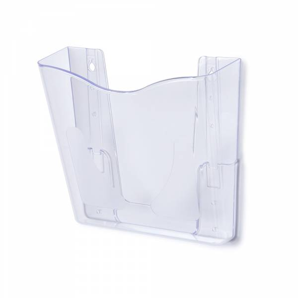 Stojanček na letáky, DIN A4, pre upevnenie na stenu