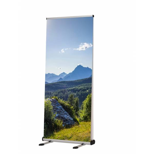 Roll-Banner Open-Air 85x200 cm