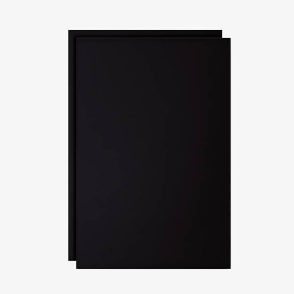 Set dvoch čiernych popisovateľných fólií