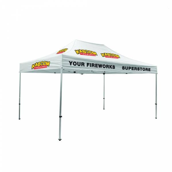 Základný stanový set s plnofarebne potlačenou strechou