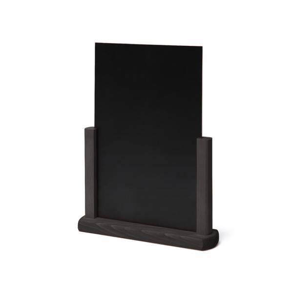 JD NATURA Drevený menu stojanček A4 čierny