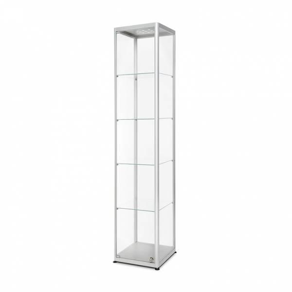 Sklenená produktová vitrína 400x2000x400mm