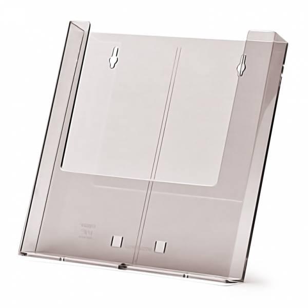Stojanček na letáky A4, na stenu alebo s podperou