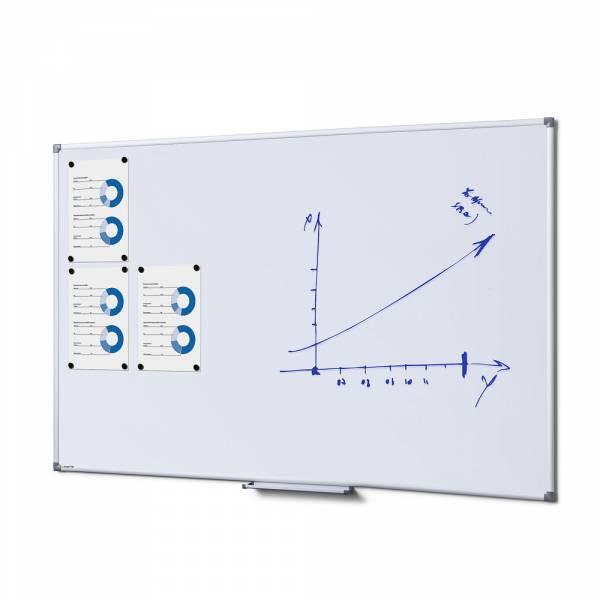 Popisovateľná magnetická tabuľa - whiteboard SCRITTO enamel, 1000x1500mm