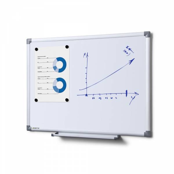 Popisovateľná magnetická tabuľa - whiteboard 600x450mm SCRITTO