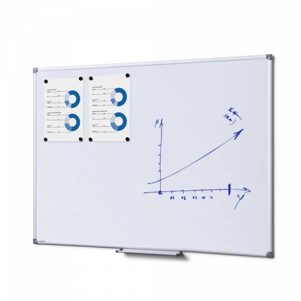 Popisovateľná magnetická tabuľa - whiteboard 900x1200mm SCRITTO