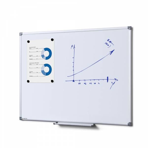 Popisovateľná magnetická tabuľa - whiteboard SCRITTO enamel, 600x900mm
